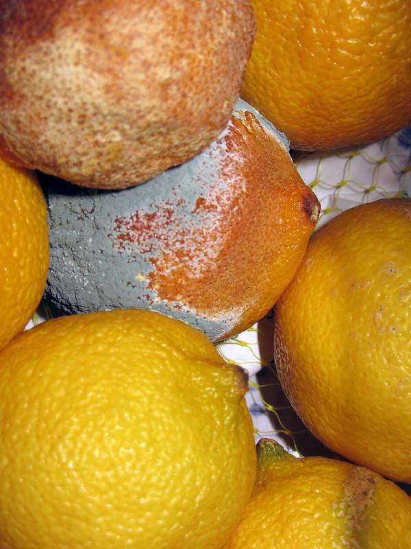 Rotten fruit