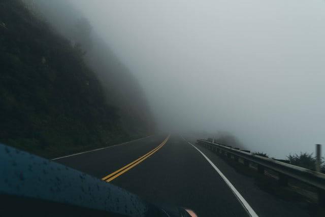 Foggy driving
